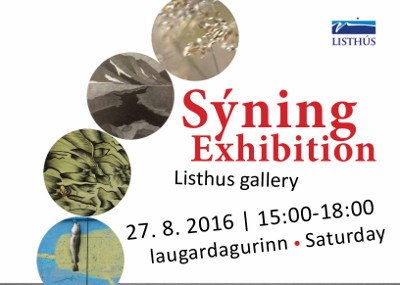 S�ning / Exhibition - Listh�s Gallery
